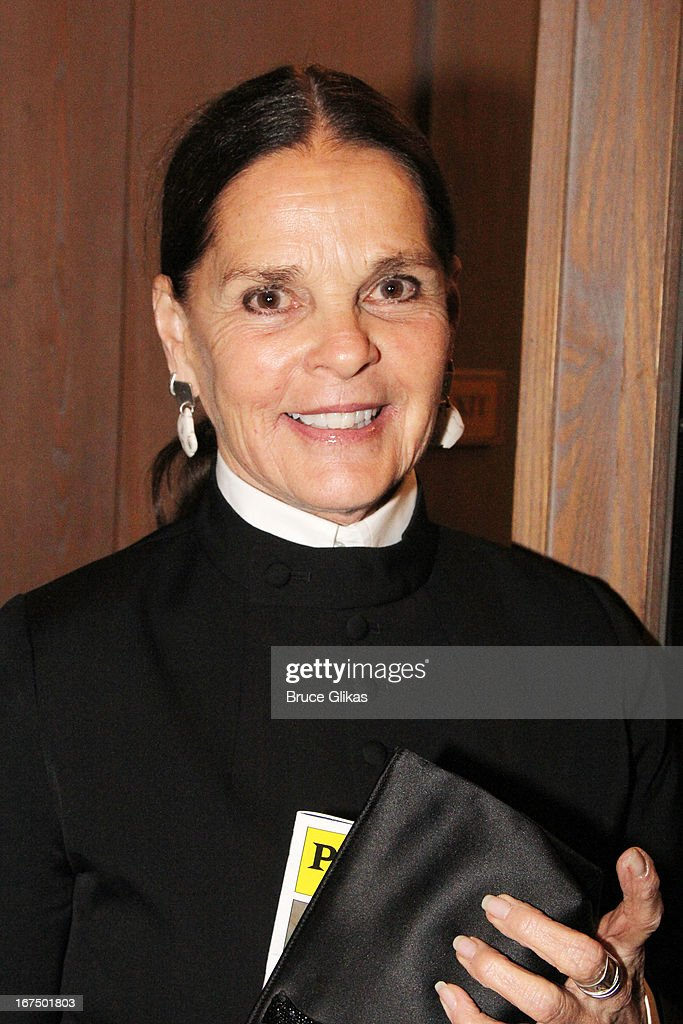 Ali MacGraw attends the 'I'll Eat You Last: A Chat With Sue Mengers' Broadway opening night at The Booth Theater on April 24, 2013 in New York City.