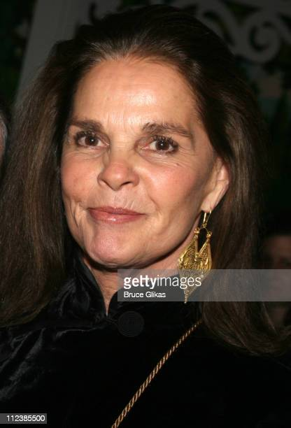 Ali MacGraw during 'Festen' Broadway Opening Night After Party at Opening Night Curtain Call and Party for 'Festen' on Broadway in New York NY United...