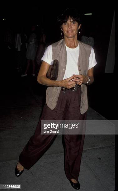 Ali MacGraw during 'Love Letters' at Canon Theatre in Beverly Hills California United States