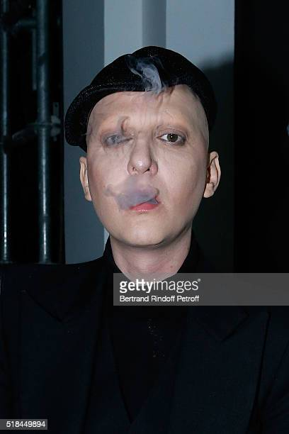 Ali Mahdavi attends the 'Guy Bourdin Portraits' Exhibition Opening and Cocktail at Studio des Acacias on March 31 2016 in Paris France