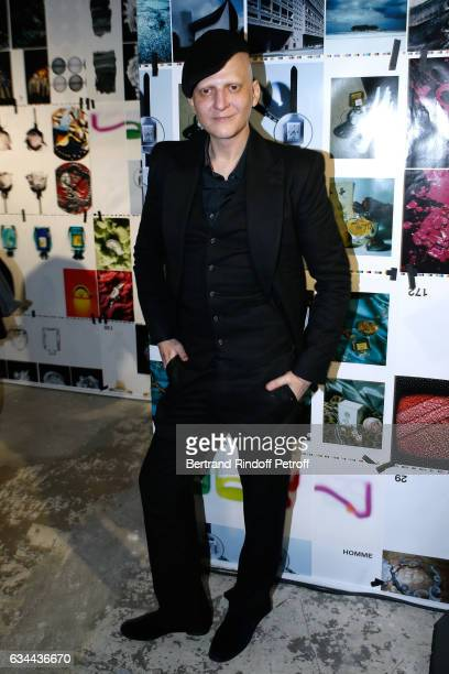 Ali Mahdavi attends the Launching of the Book 'Mocafico Numero' at Studio des Acacias on February 9 2017 in Paris France