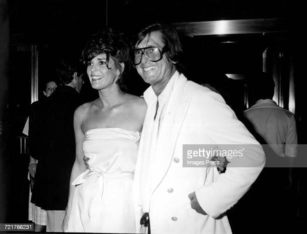 Ali McGraw and Bob Evans circa 1979 in New York City