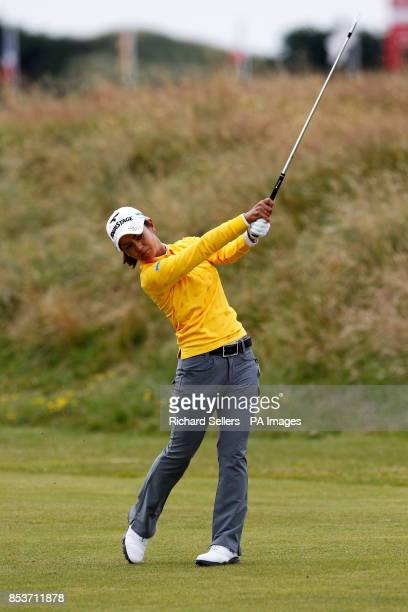 Ali Miyazato of Japan during day three of the Ricoh Women's British Open at Royal Birkdale Southport