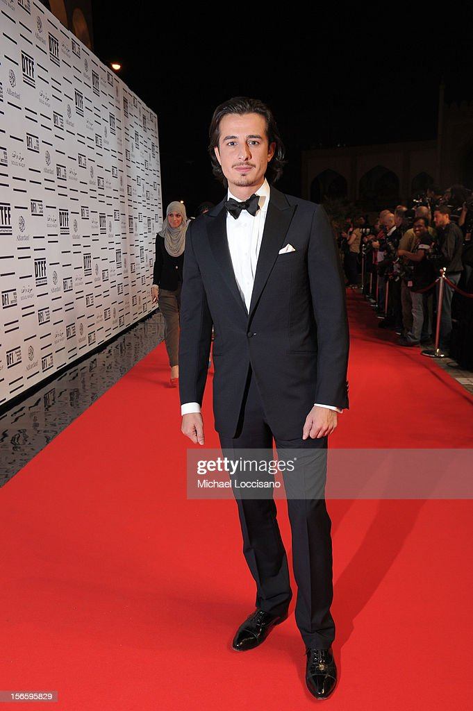 Ali Mostafa attends the opening night ceremony and gala screening of 'The Reluctant Fundamentalist' during the 2012 Doha Tribeca Film Festival at Al Mirqab Hotel on November 17, 2012 in Doha, Qatar.