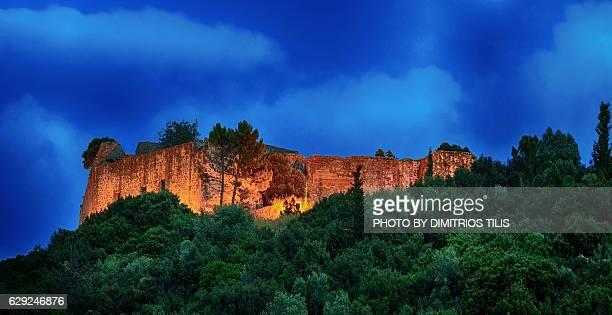 Ali pasha's castle at dusk