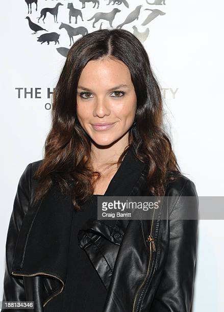 Ali Rizzo attends HSUS 'To the Rescue New York' benefit at Cipriani 42nd Street on November 15 2013 in New York City