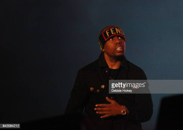 02 Ali Shaheed Muhamma of A Tribe Called Quest perform at Electric Picnic Festival at Stradbally Hall Estate on September 2 2017 in Laois Ireland
