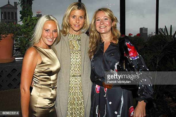 Ali Smith Eleanor Ylvisaker and Vanessa Lunt attend MULBERRY and VOGUE Cocktail Party at Gramercy Park Hotel PRC on September 10 2007 in New York City