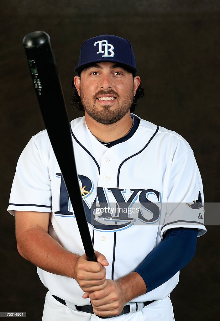 Ali Solis #64 of the Tampa Bay Rays poses for a portrait at Charlotte Sports Park during photo day on February 26, 2014 in Port Charlotte, Florida.