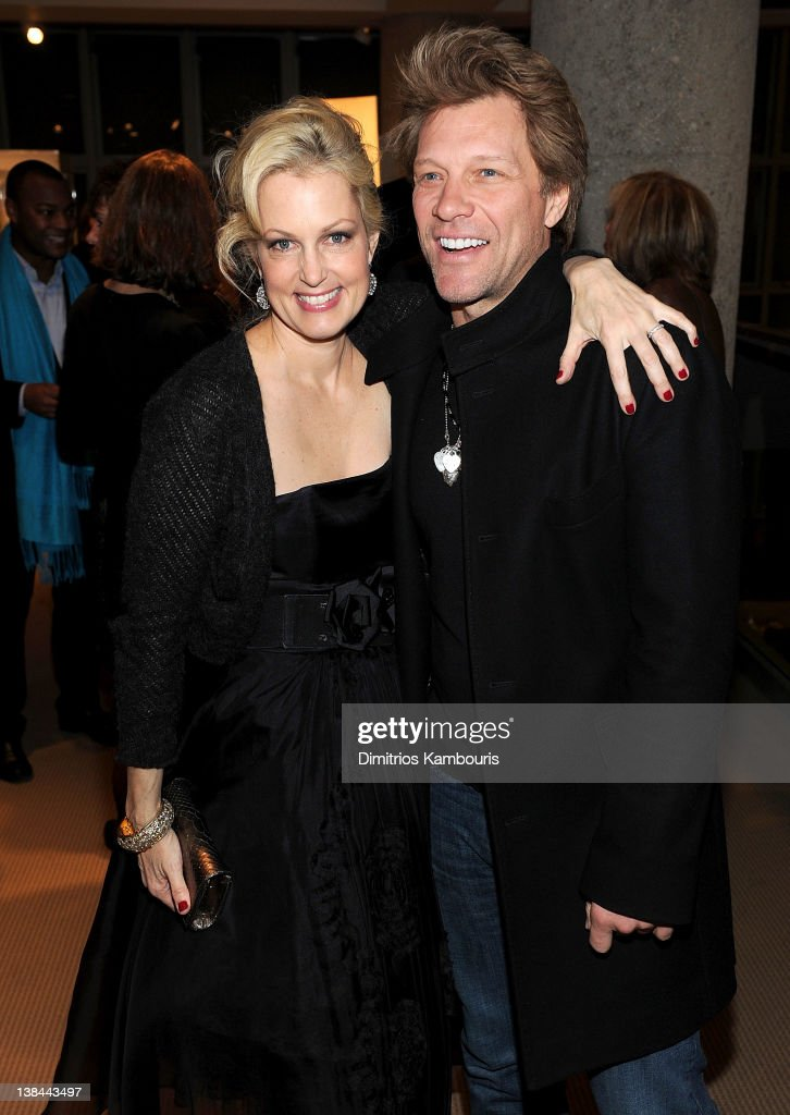 Ali Wentworth and <a gi-track='captionPersonalityLinkClicked' href=/galleries/search?phrase=Jon+Bon+Jovi&family=editorial&specificpeople=201527 ng-click='$event.stopPropagation()'>Jon Bon Jovi</a> attend the book launch party for Ali Wentworth's new book 'Ali In Wonderland' at Sotheby's on February 6, 2012 in New York City.