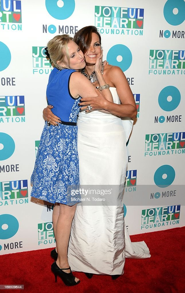 Ali Wentworth and <a gi-track='captionPersonalityLinkClicked' href=/galleries/search?phrase=Mariska+Hargitay&family=editorial&specificpeople=204727 ng-click='$event.stopPropagation()'>Mariska Hargitay</a> attend the 2013 Joyful Heart Foundation gala at Cipriani 42nd Street on May 9, 2013 in New York City.