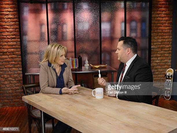 Ali Wentworth and Ross Mathews host of Hello Ross and author of the best seller 'Man Up' chat about the importance of knowing your HIV status on...