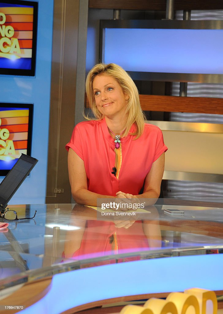 AMERICA - Ali Wentworth fills in during 'Pop News' on GOOD MORNING AMERICA, 9/14/13, airing on the ABC Television Network. ALI