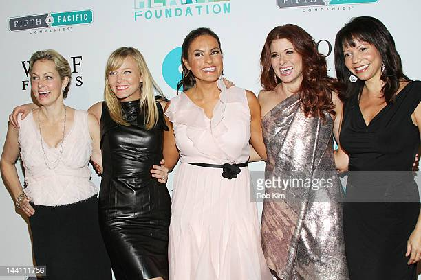 Ali Wentworth Kelli Giddish Mariska Hargitay Debra Messing and guest attend The 5th Annual Joyful Revolution Gala at Cipriani Wall Street on May 9...