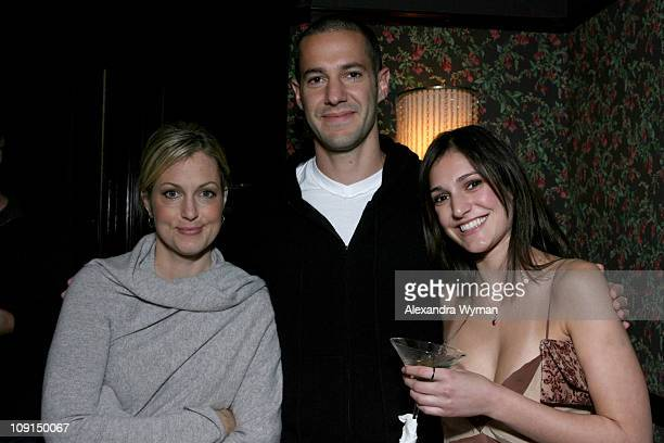 Ali Wentworth Mike Rosenthal and Wendy Rosenthal during 'Head Case' Season Premiere Party in Los Angeles at Private Residence in Los Angeles...