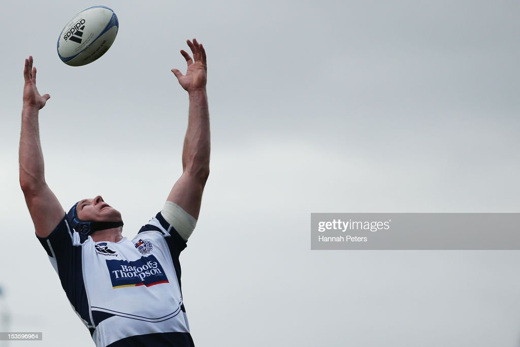 Ali Williams of Auckland competes for lineout ball during the round 13 ITM Cup match between North Harbour and Auckland at North Harbour Stadium on October 7, 2012 in Auckland, New Zealand.