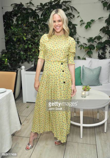 Ali Wise attends THE OUTNET x Amber Valletta at Waldorf Astoria Beverly Hills on October 19 2017 in Beverly Hills California