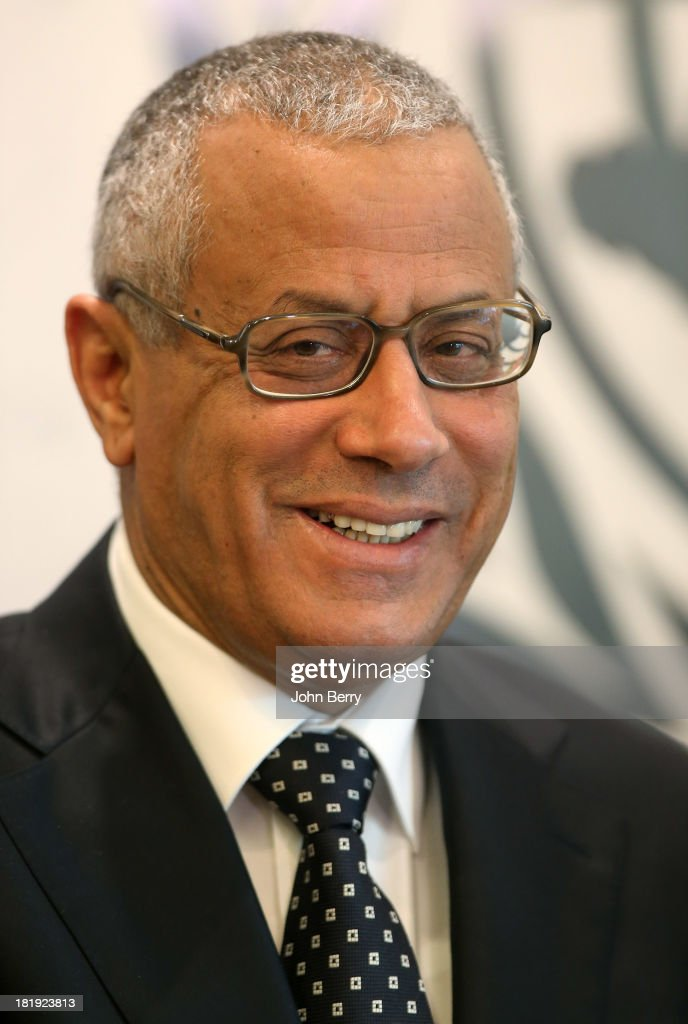 <a gi-track='captionPersonalityLinkClicked' href=/galleries/search?phrase=Ali+Zeidan&family=editorial&specificpeople=7544817 ng-click='$event.stopPropagation()'>Ali Zeidan</a>, Prime Minister of Libya attends the 68th session of the United Nations General Assembly on September 25, 2013 in New York City.