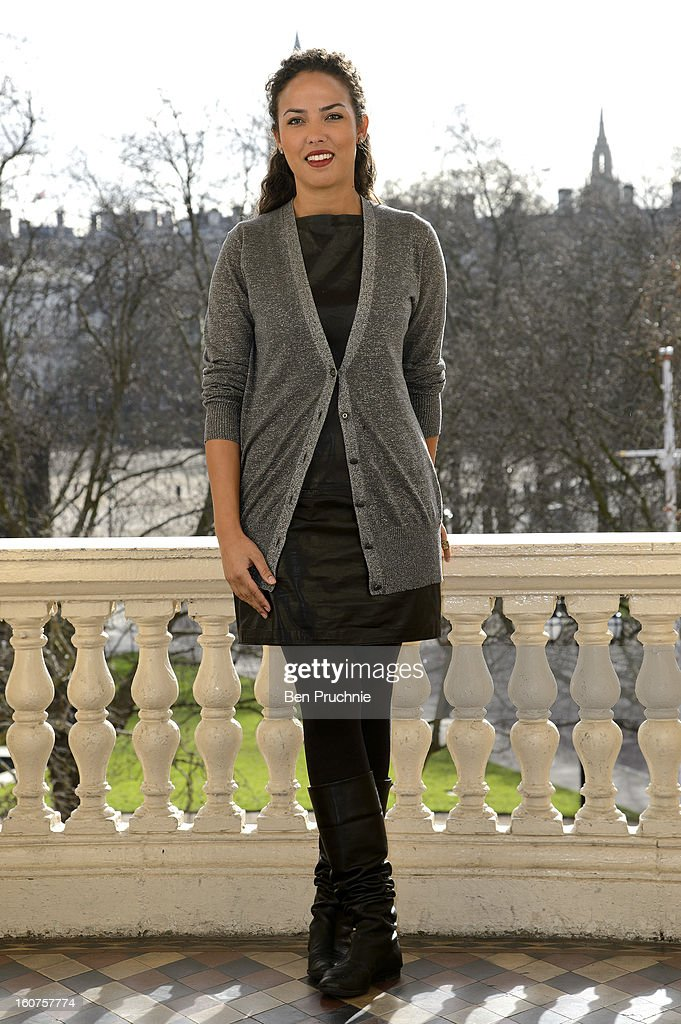 Alia Al Senussi attends a photocall to promote One Billion Rising, a global movement aiming to end violence towards women, at ICA on February 5, 2013 in London, England.
