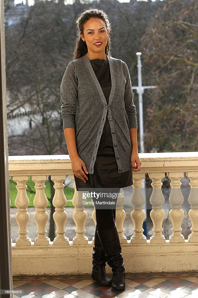 Alia Al Senussi attends a photocall to promote One Billion Rising, a global movement aiming to end violence towards women at ICA on February 5, 2013 in London, England.