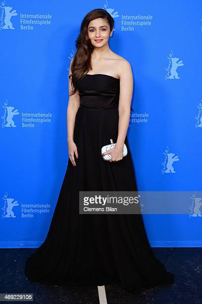 Alia Bhatt attends the 'Highway' premiere during 64th Berlinale International Film Festival at Zoo Palast on February 13 2014 in Berlin Germany