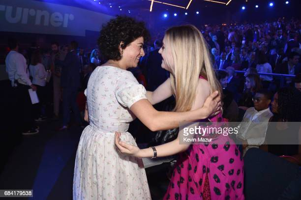 Alia Shawkat and Dakota Fanning attend the Turner Upfront 2017 show at The Theater at Madison Square Garden on May 17 2017 in New York City 26617_005