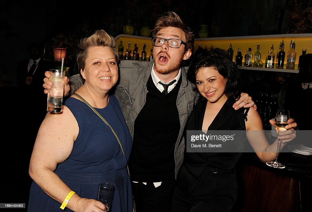 <a gi-track='captionPersonalityLinkClicked' href=/galleries/search?phrase=Alia+Shawkat&family=editorial&specificpeople=206872 ng-click='$event.stopPropagation()'>Alia Shawkat</a> (R) and guests attend an after party celebrating the UK Premiere of the Netflix Original Series 'Arrested Development: Season 4' at Sketch on May 9, 2013 in London, England.