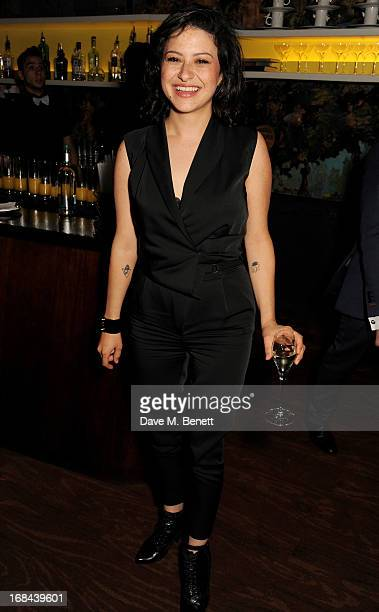 Alia Shawkat attends an after party celebrating the UK Premiere of the Netflix Original Series 'Arrested Development Season 4' at Sketch on May 9...