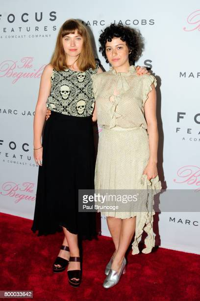 Alia Shawkat attends 'The Beguiled' New York Premiere Arrivals at Metrograph on June 22 2017 in New York City