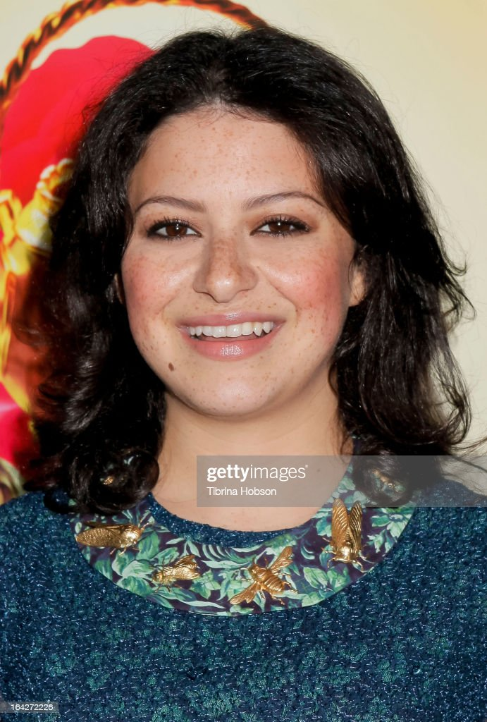 Alia Shawkat attends 'The Brass Teapot' Los Angeles special screening at ArcLight Hollywood on March 21, 2013 in Hollywood, California.
