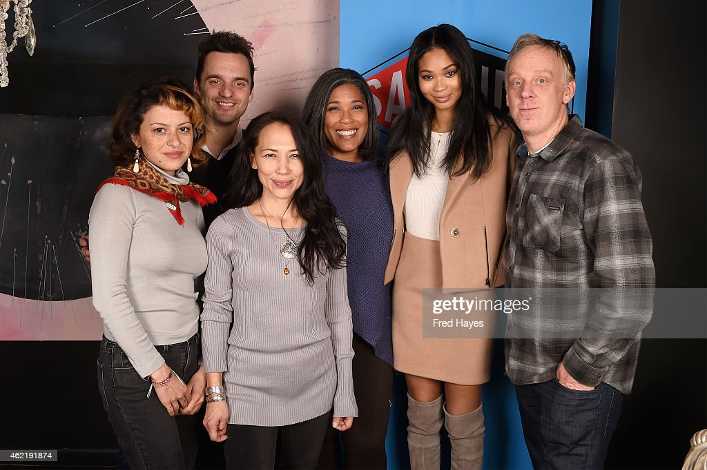 Alia Shawkat Jake Johnson Irene Bedard Darrien Michele Gipson Chanel Iman and Mike White attend the SAG Indie Actors Only Brunch during the 2015...