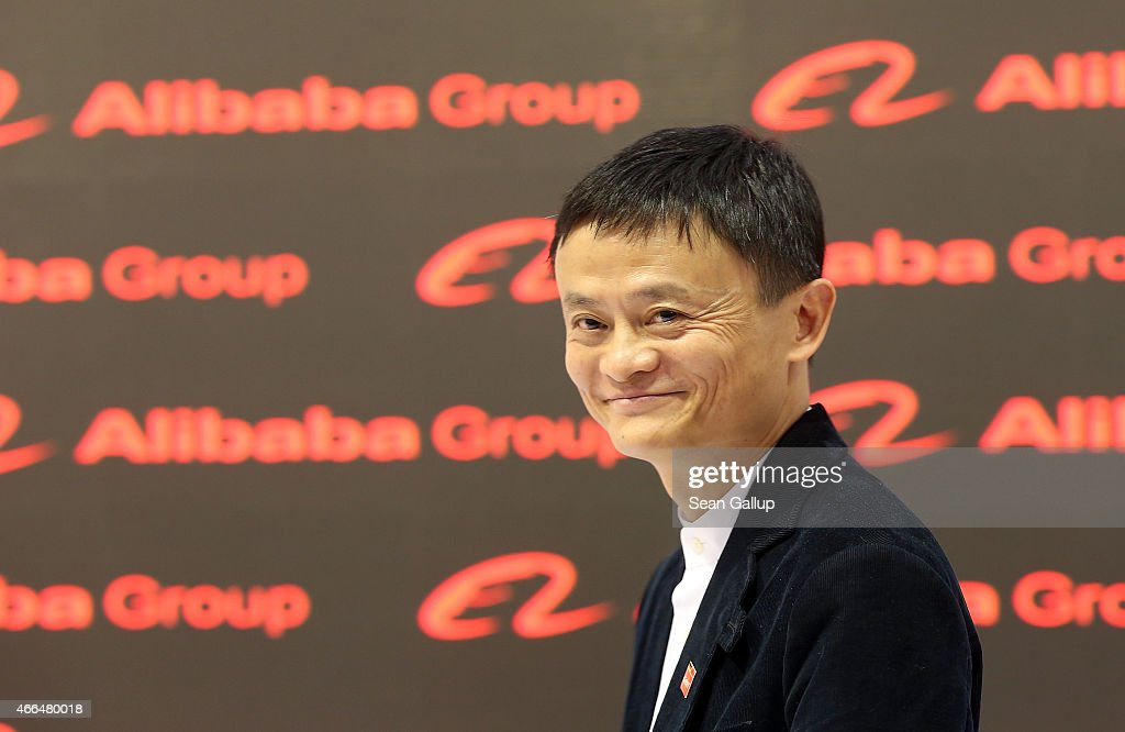 Alibaba Group Executive Chairman <a gi-track='captionPersonalityLinkClicked' href=/galleries/search?phrase=Jack+Ma&family=editorial&specificpeople=2110288 ng-click='$event.stopPropagation()'>Jack Ma</a> attends the 2015 CeBIT technology trade fair on March 16, 2015 in Hanover, Germany. China is this year's CeBIT partner. CeBIT is the world's largest tech fair and will be open from March 16 through March 20.