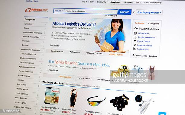 Alibabcom website home page Alibaba's assets account for 80% of all Chinese online retail traffic Alibaba is a giant like Amazon in China's internet...