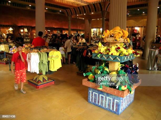 Alicante Benidorm 'Terra Mitica' fairground Egypt Area 'Anubis' gift shop