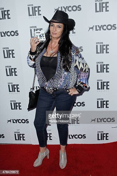 Alice Amter attends the LYCOS life project launch party on June 8 2015 in North Hollywood California