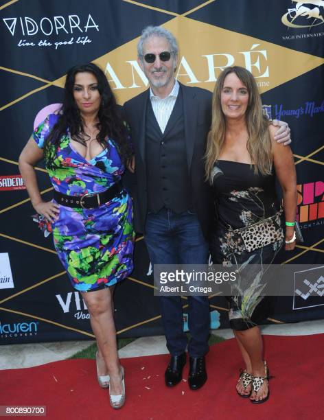 Alice Amter Lee Aronsohn and Lisa Haisha at the Amare Magazine 1st Year Anniversary Issue Release Soiree held at a Private Residence on June 24 2017...