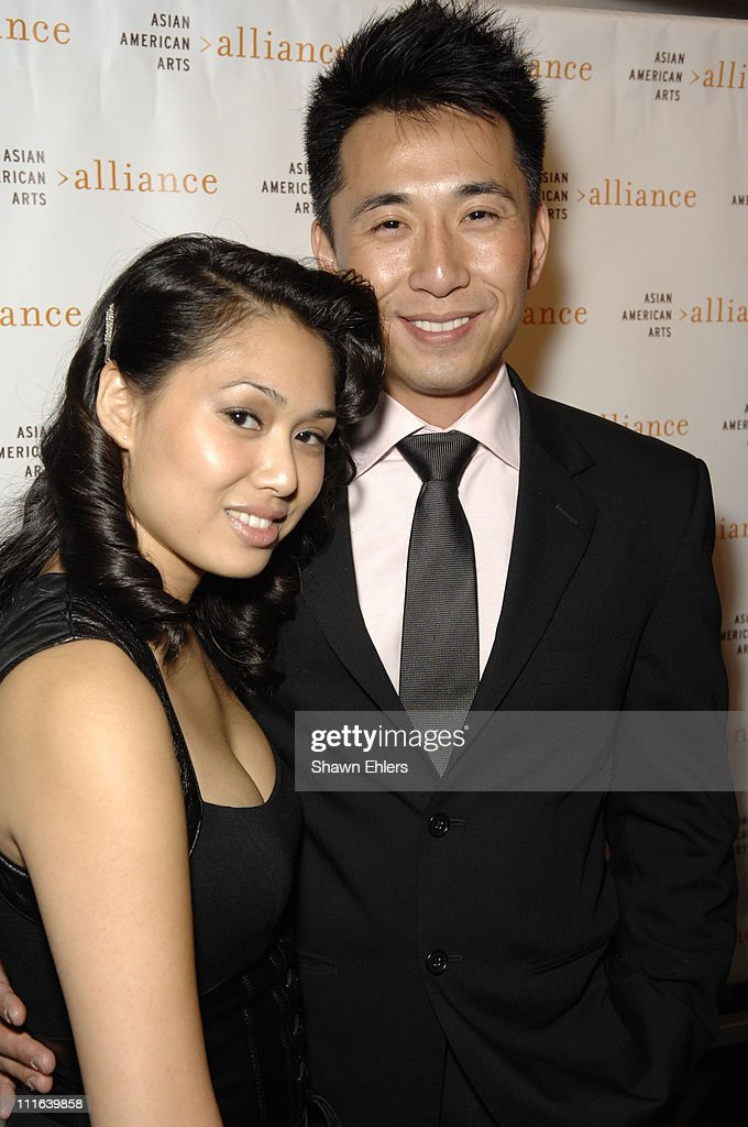 Alice An and Actor James Kyson Lee attend 25th Anniversary Gala of the Asian American Arts Alliance on October 16 2007 at Tribeca Rooftop in New York...