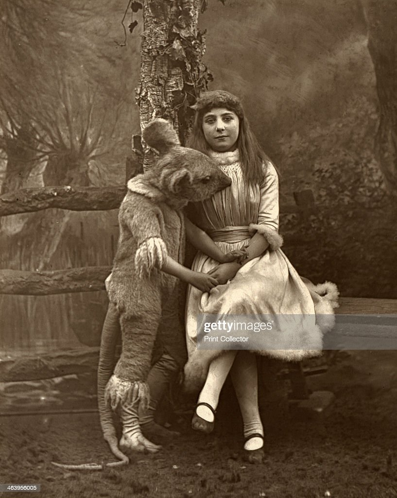 Alice and the dormouse 1887 A photograph from The Theatre A Monthly Review Volume IX January to June Carson Comerford London 1887