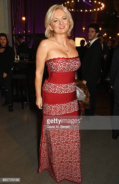 Alice Beer attends the National Television Awards cocktail reception at The O2 Arena on January 25 2017 in London England