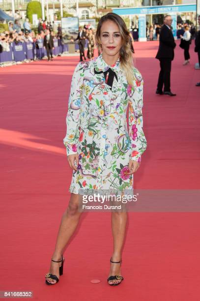 Alice Belaidi arrives at the opening ceremony of the 43rd Deauville American Film Festival on September 1 2017 in Deauville France