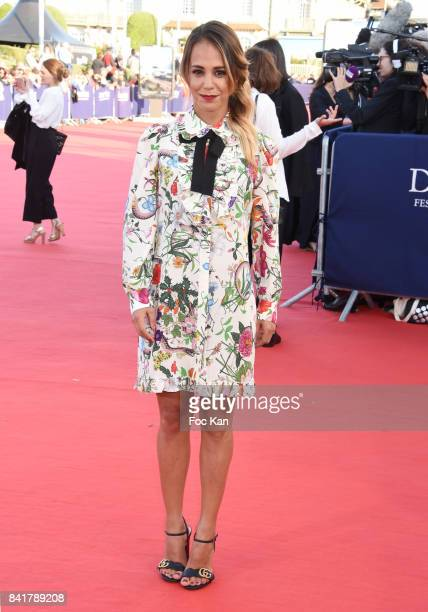 Alice Belaidi attends the opening ceremony of the 43rd Deauville American Film Festival on September 1 2017 in Deauville France