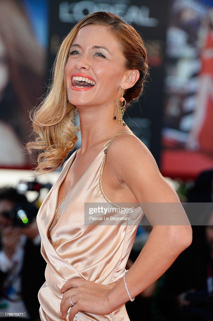 Alice Bellagamba attends the 'Joe' Premiere during The 70th Venice International Film Festival at Palazzo Del Cinema on August 30, 2013 in Venice, Italy.