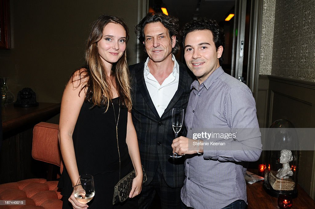Alice Braccini, Stephen Webster and Jonathan Boller attend The 'Last Supper' Discussion hosted By Stephen Webster At Soho House at Soho House on November 8, 2013 in West Hollywood, California.