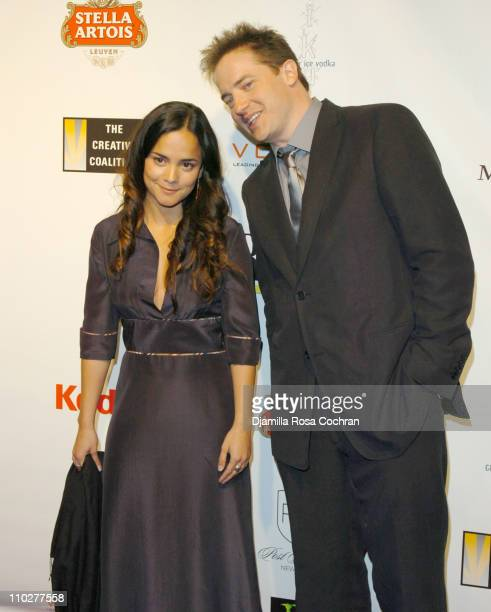 Alice Braga and Brendan Fraser during 5th Annual Tribeca Film Festival 'Journey to the End of the Night' After Party at PM Lounge in New York City...