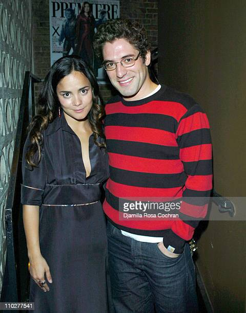 Alice Braga and Nuno Lopes during 5th Annual Tribeca Film Festival 'Journey to the End of the Night' After Party at PM Lounge in New York City New...