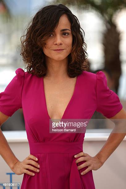 Alice Braga attends 'The Disappearance of Eleanor Rigby' photocall at the 67th Annual Cannes Film Festival on May 18 2014 in Cannes France