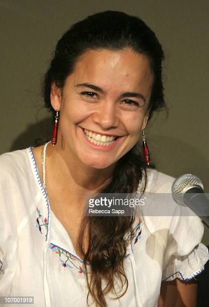 Alice Braga during 2006 Los Angeles Film Festival Fest Talk Crossing Borders Latino Indiewood at Hammer Museum in Los Angeles United States