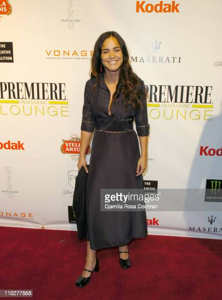 Alice Braga during 5th Annual Tribeca Film Festival 'Journey to the End of the Night' After Party at PM Lounge in New York City New York United States