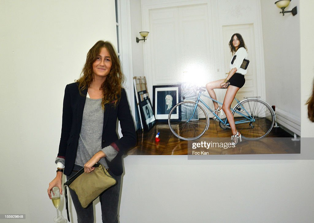 Alice Bureau attends 'Les Parisiennes' - Photo Exhibition Preview at Galerie Clementine De La Feronniere on November 8, 2012 in Paris, France.