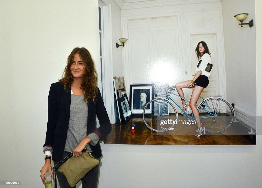 Alice Bureau attends 'Les Parisiennes' - Photo Exhibition Preview at Galerie Clementine De La Feronniere on November 8, 2012 in Paris, France.